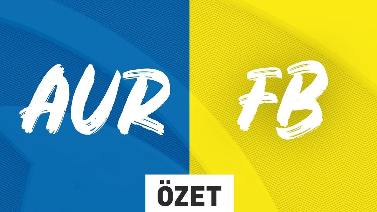 Team Aurora ( AUR ) vs 1907 Fenerbahçe Espor ( FB ) 5. Maç Özeti | 2020 VFŞL Kış Mevsimi Yarı Final