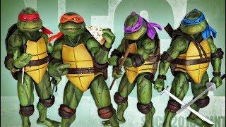 NECA - Teenage Mutant Ninja Turtles - SDCC 2018 Exclusive 1990 Movie Figures Review