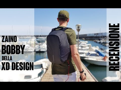 Zaino Bobby della XD Design. La recensione di TimesGadget