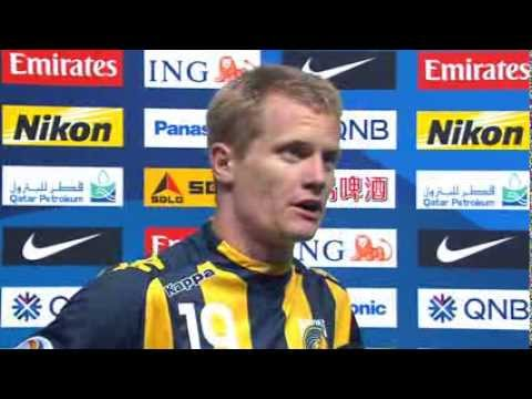 Interview: Matthew Simon - Forward, Central Coast Mariners: AFC Champions League 2014 (MD1)