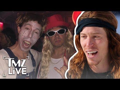 Shaun White's Offensive Whiteface Costume   TMZ Live