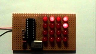 Repeat youtube video Kleine Elektronikbastelei mit PIC-Mikrocontroller 16F84