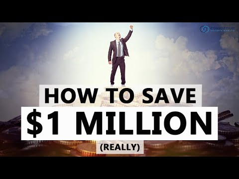 How To Save One Million Dollars (really)