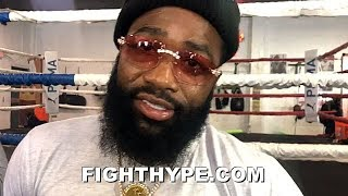 ADRIEN BRONER KEEPS IT REAL ON FACING PACQUIAO IN FIRST PPV; FOCUSED ON SETTING FAMILY UP FOR LIFE