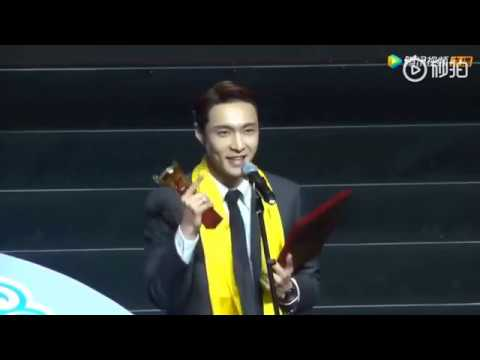 [ENGSUB CC] 190612 25th Huading Awards - Zhang Yixing: Best Supporting Actor Award
