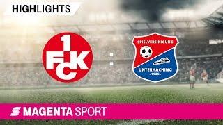 1. FC Kaiserslautern - SpVgg Unterhaching | Spieltag 1, 19/20 | MAGENTA SPORT