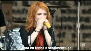 Paramore Where The Lines Overlap  Summer Sonic 2009  Legendado Hd