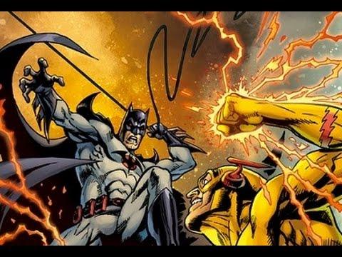 Speed Force Batman Vs Professor Zoom
