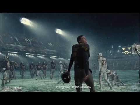 Extended #JusticeLeague #VictorStone Football 🏈 Deleted Scenes ...