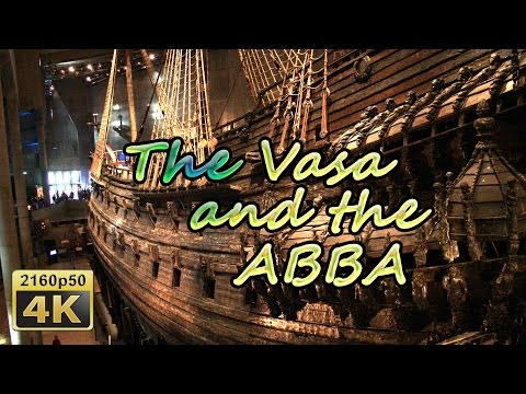 Vasa and ABBA Museum, Stockholm - Sweden 4K Travel Channel