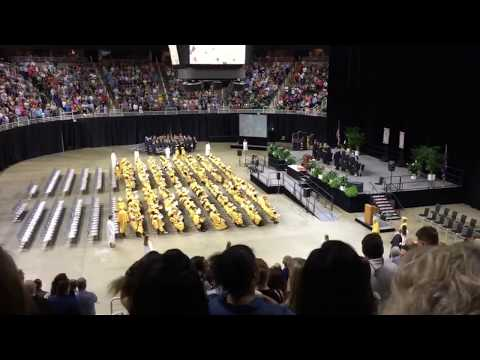 Holt High School Graduation entry time-lapse 2017