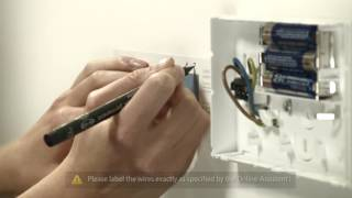 tado° Installation Smart Thermostat with room thermostat European market