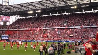 Danke Boris ! 1. FC Köln - HSV  23. August 2014
