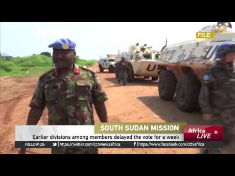 Peacekeepers urged to protect civilians, help restore order in South Sudan