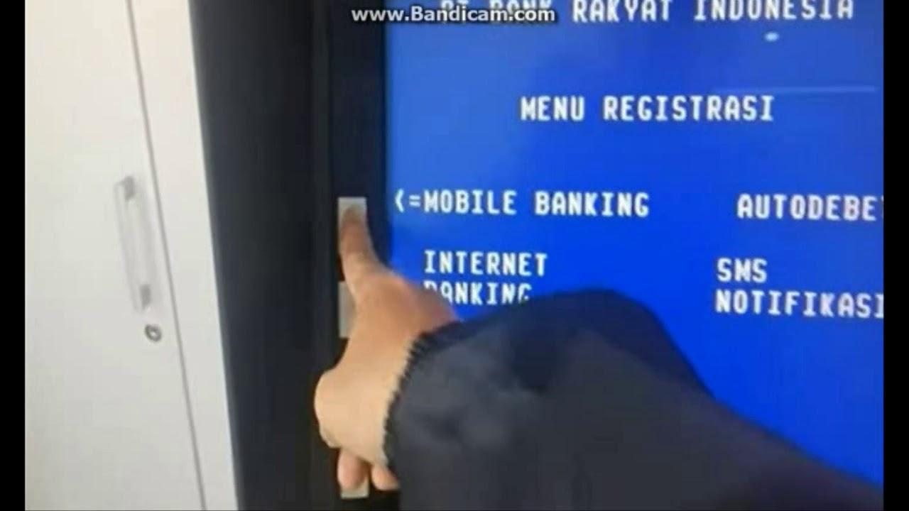 Cara Ganti Nomor Sms Banking Bri Youtube