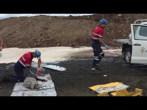 Narrabri Mine Fire Drill