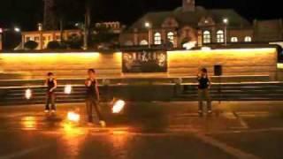 火球舞團體表演組 中華大學火舞社 HQ