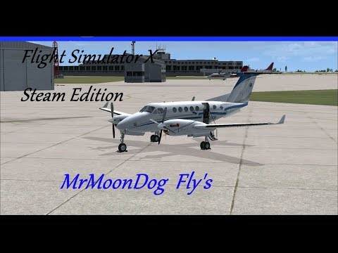 MoonDog Fly's | Flying a ETS route I have done a few times. | King Air 200B |