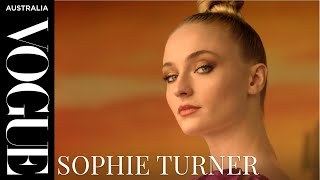 Sophie Turner's guide to changing a tyre | Celebrity Interviews | Vogue Australia