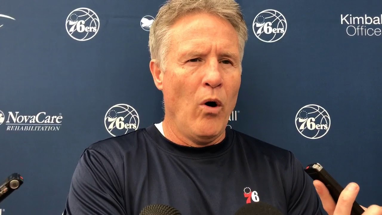 Brett Brown: Markelle Fultz Would Have to Tell 76ers He's Ready to Return