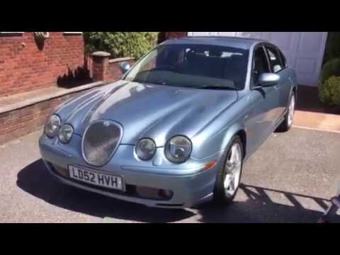 2002 Jaguar S Type R in our 30th May online auction