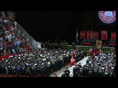 Illinois State University Spring Commencement - College of Education and Interdisciplinary Studies