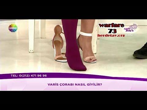Zahide'ye hemen Yetiş - YENİ - Varis çorabı nasıl giyilir (08.05.2017)