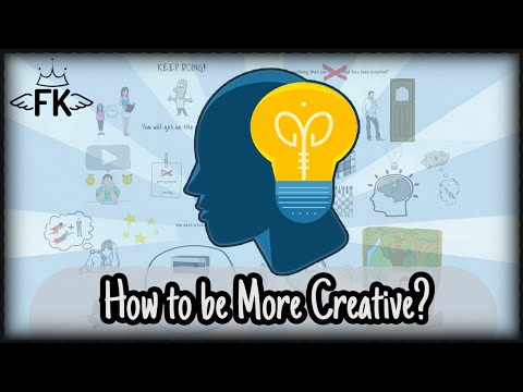 How to Become More Creative – Develop and Increase Your Creativity