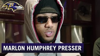 Marlon Humphrey: Not the Result We Wanted | Baltimore Ravens