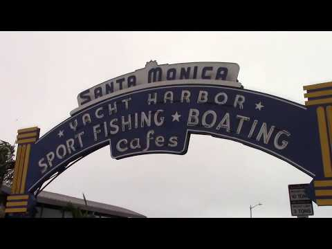 Santa Monica Pier Video Tour