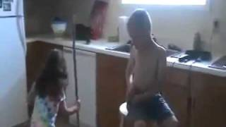 little girl proposes her little bf and the boy starts crying