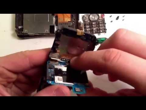 Sony Ericsson W890i repair case replacement