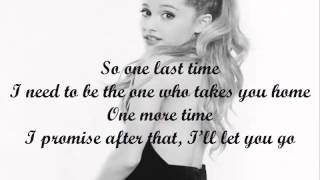 Ariana Grande - One Last Time - Piano Instrumental - Karaoke