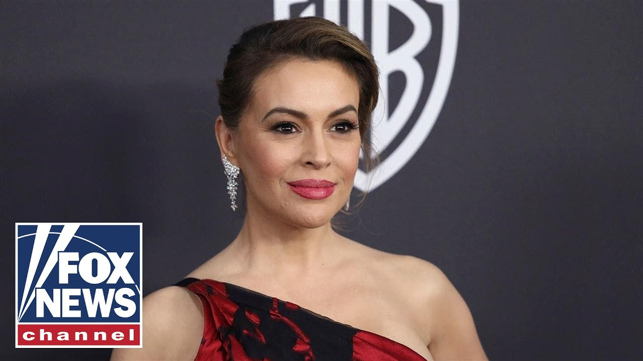Georgia lawmaker confronts Alyssa Milano over protest