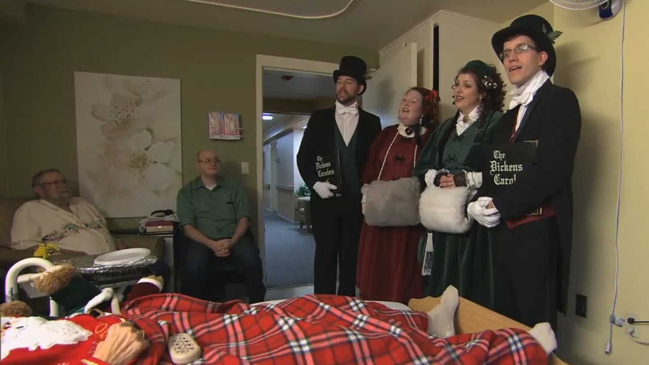 The Dickens Carolers of Seattle - CBS Sunday Morning - Dec 21, 2014