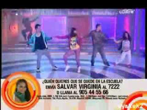 2.11.09-Wiki, Virginia, Nerea y Juan-Fama a bailar-3-