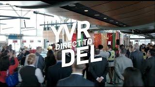 YVR Air Canada Delhi Inaugural