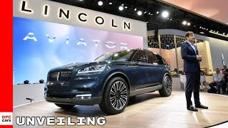 2019 Lincoln Aviator Unveiling