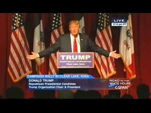 Trump to Cruz: You