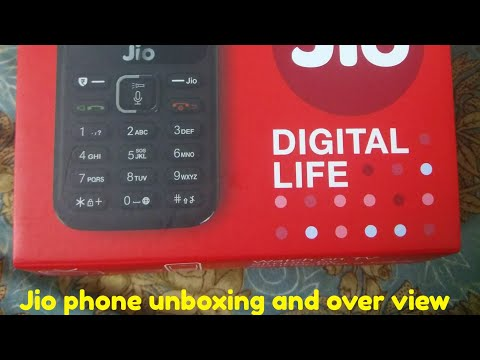 Jio phone unboxing and overview