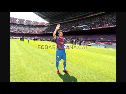 Presentation Cesc Fabragas at FC Barcelona