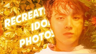 Recreate Idol Photos with Low Budget - BTS Jungkook (RIP Episodes 3)