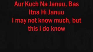 Tujh Mein Rab Dikhta Hai (FEMALE VERSION - LYRICS + TRANSLATION)