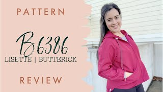 Butterick 6386 Windbreaker Jacket Sewing Pattern Review