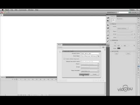 Flash: Projelerle Çalışmak (Flash Project)