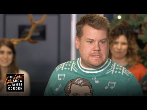 Thumbnail: James Corden Hosts His Staff's Secret Santa Gift Exchange