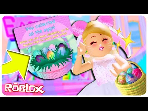 Roblox Easter Egg Hunt 2019 Youtube Roblox Free Kid Games - Every Easter Egg Location In The New Royale High Update Roblox Royale High Update Walkthrough