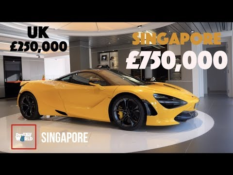 You Wont Believe Car Prices In Singapore!