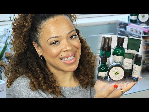 The Bodyshop Tea Tree Oil Line