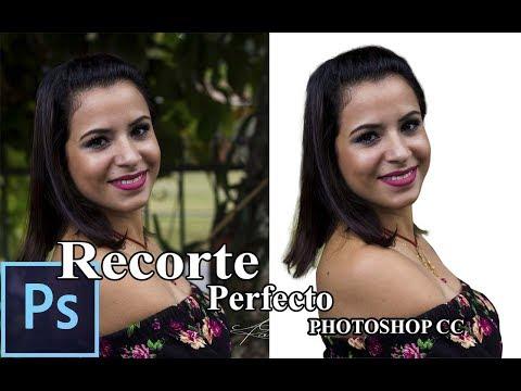 ►►Recorte perfecto de imagen  photoshop cc en español  2017  ▌anthonygrfotografia ▌